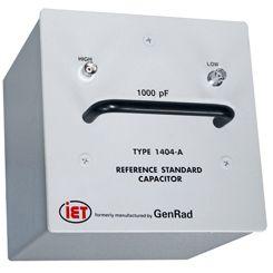 Capacitores de padrão primário da série GenRad 1404