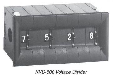 Divisor de tensão KVD-500 Kelvin-Varley