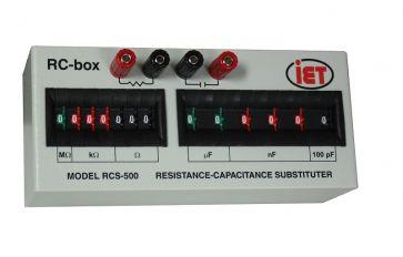 Resistência da Série RCS e Caixa de Capacitância