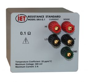 Resistores padrão SRAC projetados para uso em corrente alternada