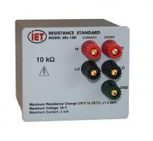 Padrão de resistência de precisão SRL-10K